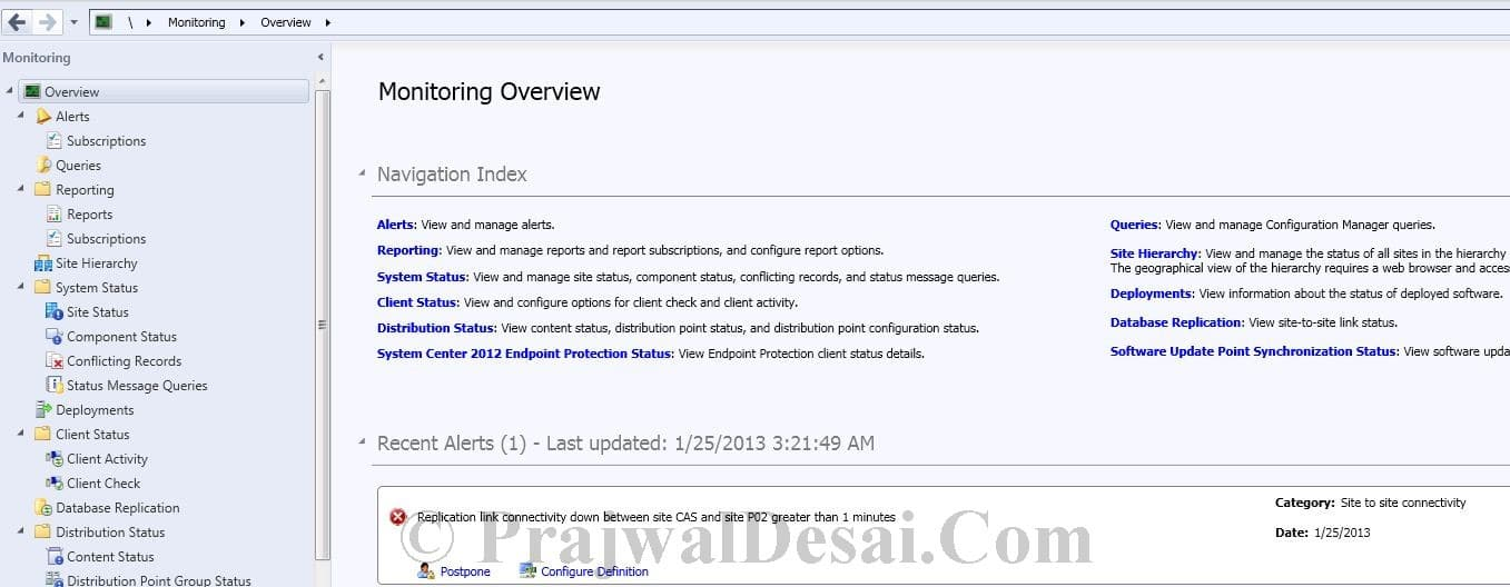 Replication Link Analyzer In Configuration Manager 2012 Snap 15