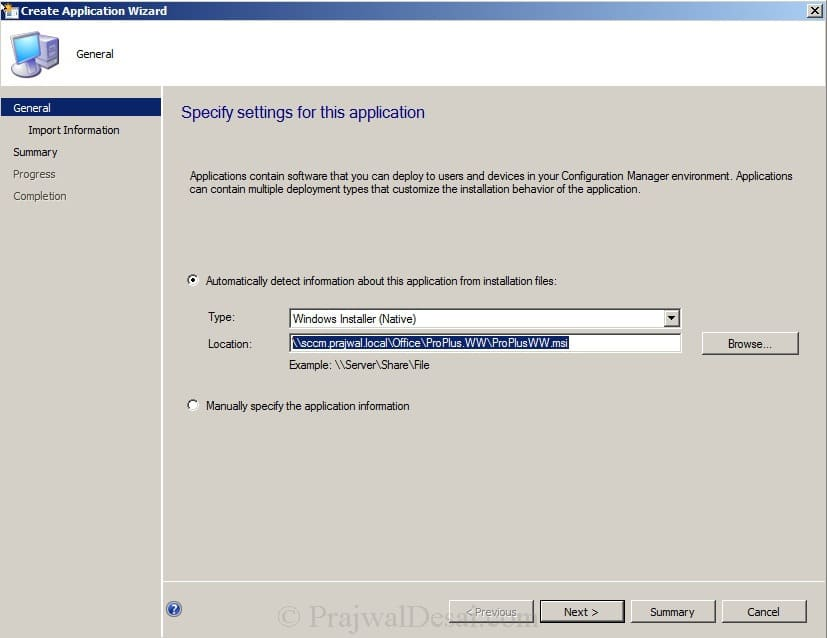 Deploy Microsoft Office 2010 Using SCCM 2012 Snap 10