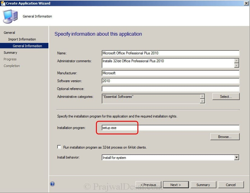 Deploy Microsoft Office 2010 Using SCCM 2012 Snap 11