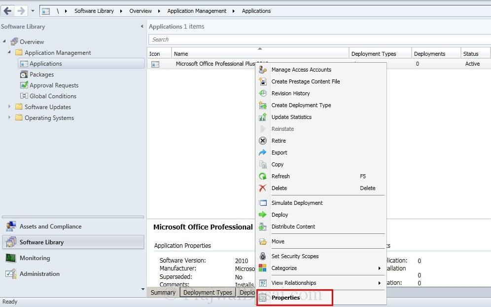 Deploy Microsoft Office 2010 Using SCCM 2012 Snap 12