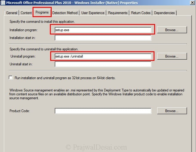 Deploy Microsoft Office 2010 Using SCCM 2012 Snap 16