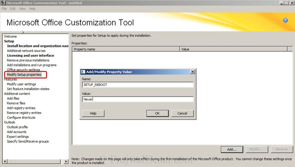 Deploy Microsoft Office 2010 Using SCCM 2012 Snap 6