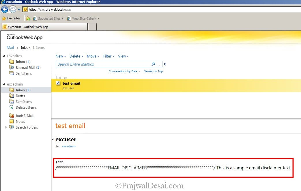 How To Configure A Disclaimer In Exchange 2010 Snap 12