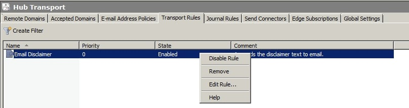 How To Configure A Disclaimer In Exchange 2010 Snap 13