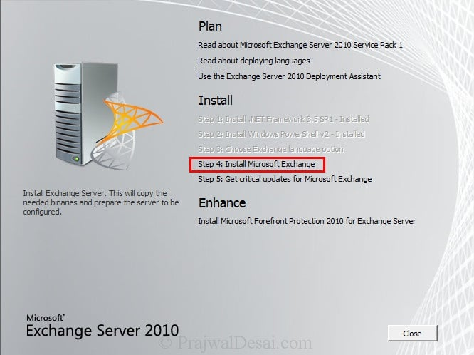 How To Install Exchange 2010 Management Tools On Windows 7 Snap 7