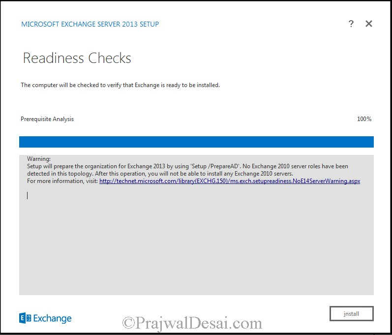 How to Install Exchange Server 2013 Snap 13