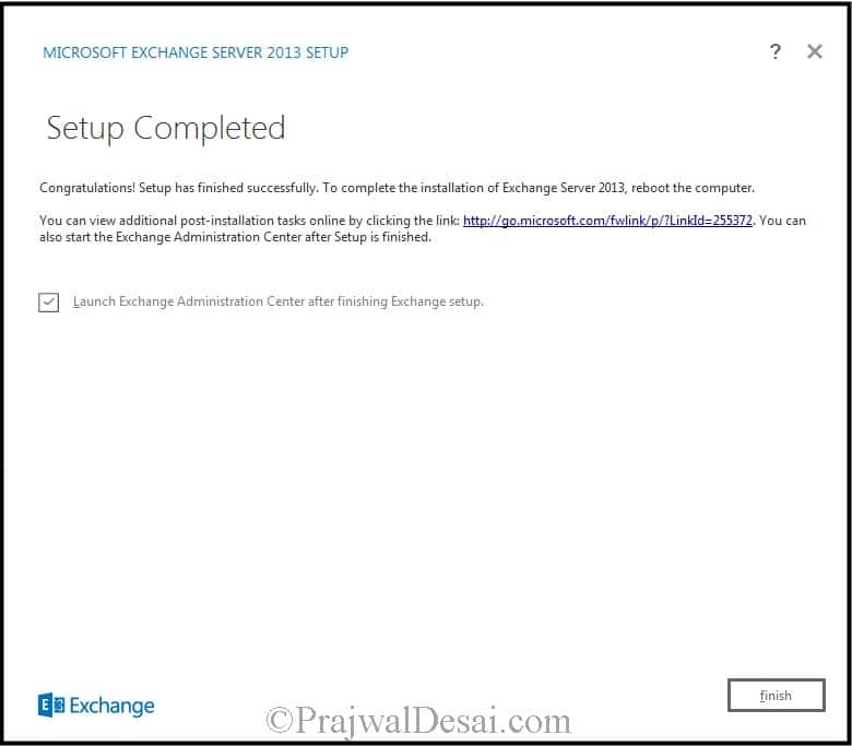 How to Install Exchange Server 2013 Snap 14