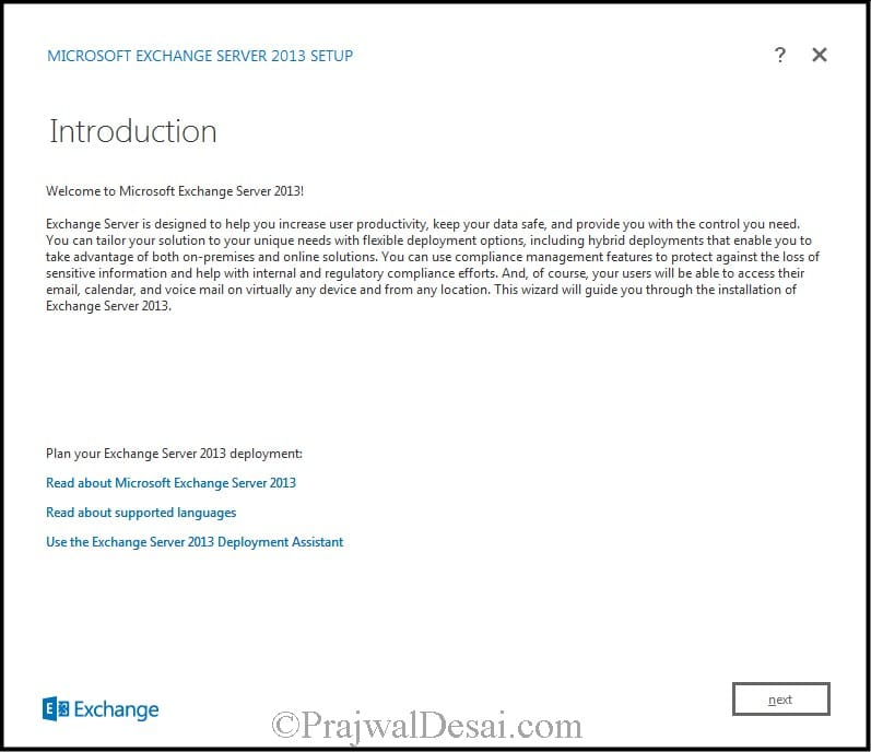 How to Install Exchange Server 2013 Snap 6