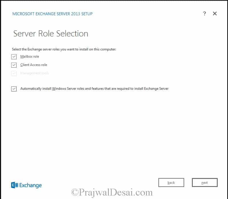 How to Install Exchange Server 2013 Snap 9