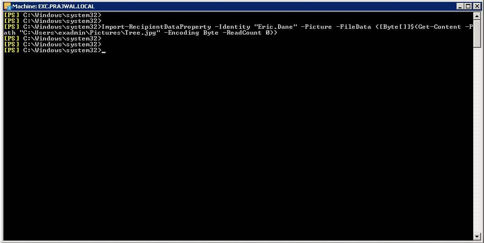 How to Import Employee Pictures Into Active Directory Snap 1