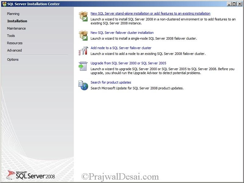 Deploying SCCM 2012 Part 4 – Installing SQL Server Snap 2
