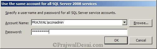 SQL service accounts