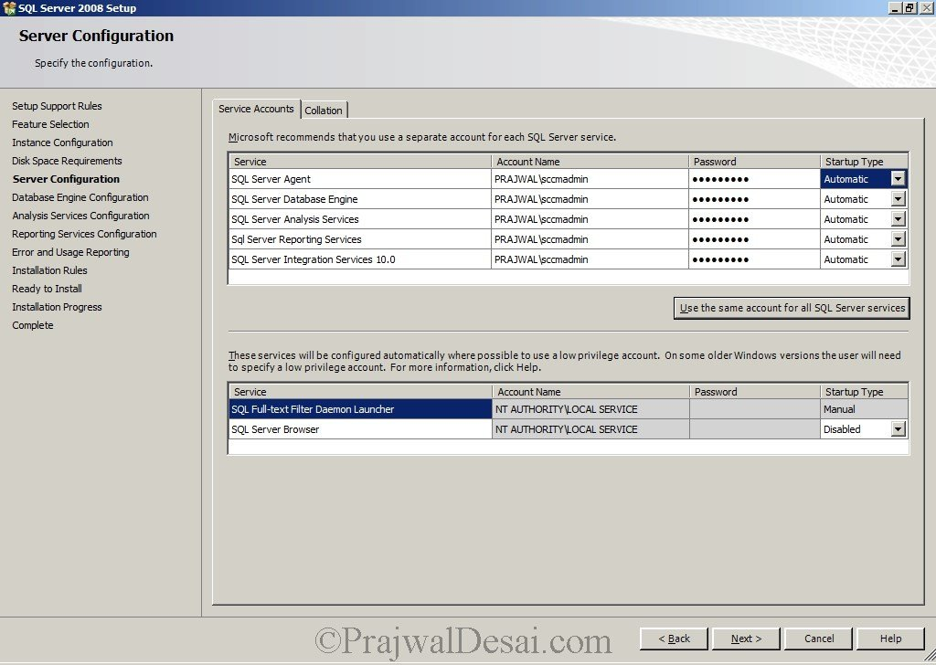Deploying SCCM 2012 Part 4 – Installing SQL Server Snap 9