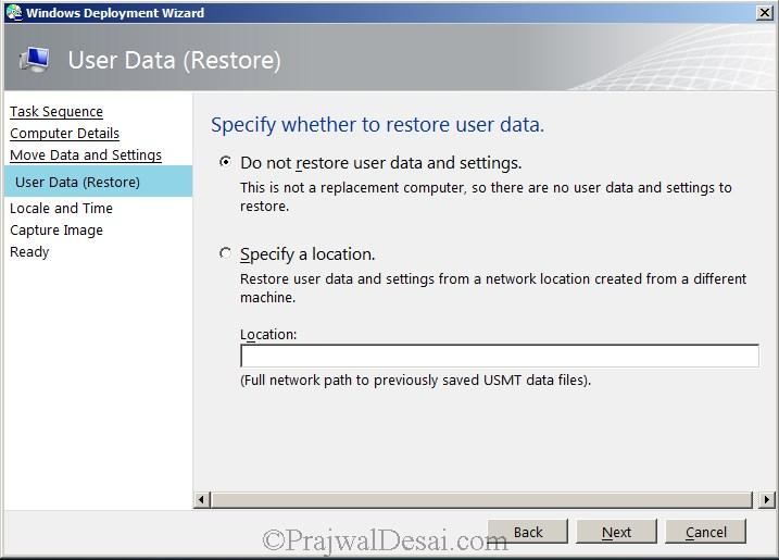 Microsoft Deployment Toolkit Part 2 Snap10