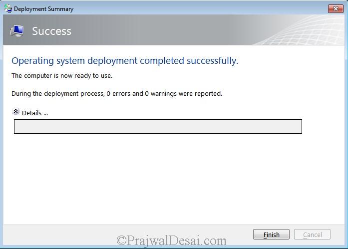 Microsoft Deployment Toolkit Part 2 Snap15