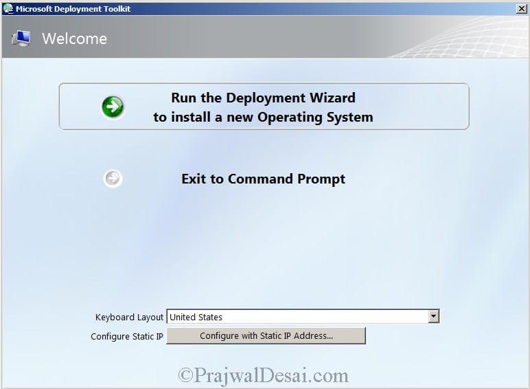 Microsoft Deployment Toolkit Part 2 Snap5