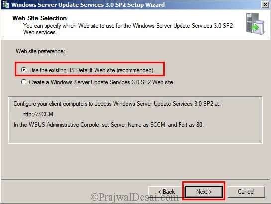 Installing WSUS Configuring Firewall Exceptions Snap 7