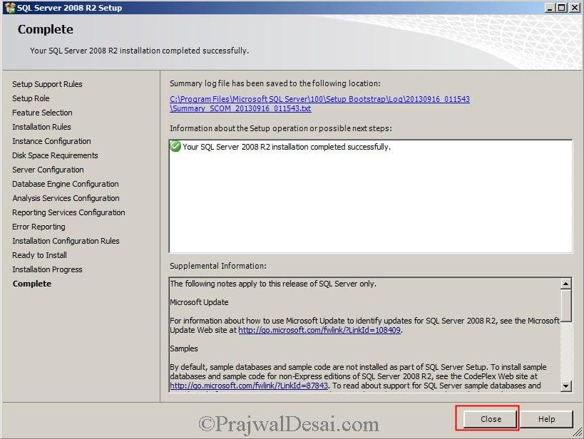 Installing SCOM 2012 SP1 Snap12