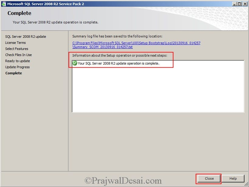 Installing SCOM 2012 SP1 Snap15