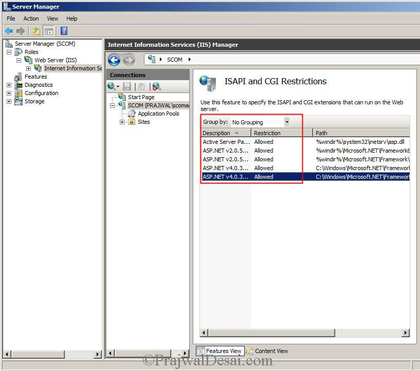 Installing SCOM 2012 SP1 Snap17