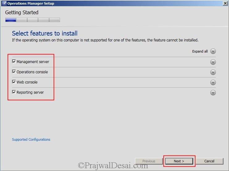 Installing SCOM 2012 SP1 Snap19