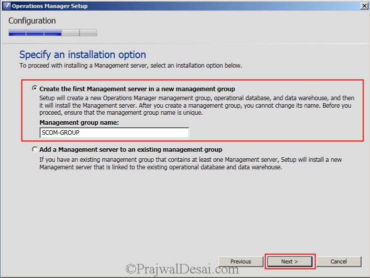 Installing SCOM 2012 SP1 Snap22