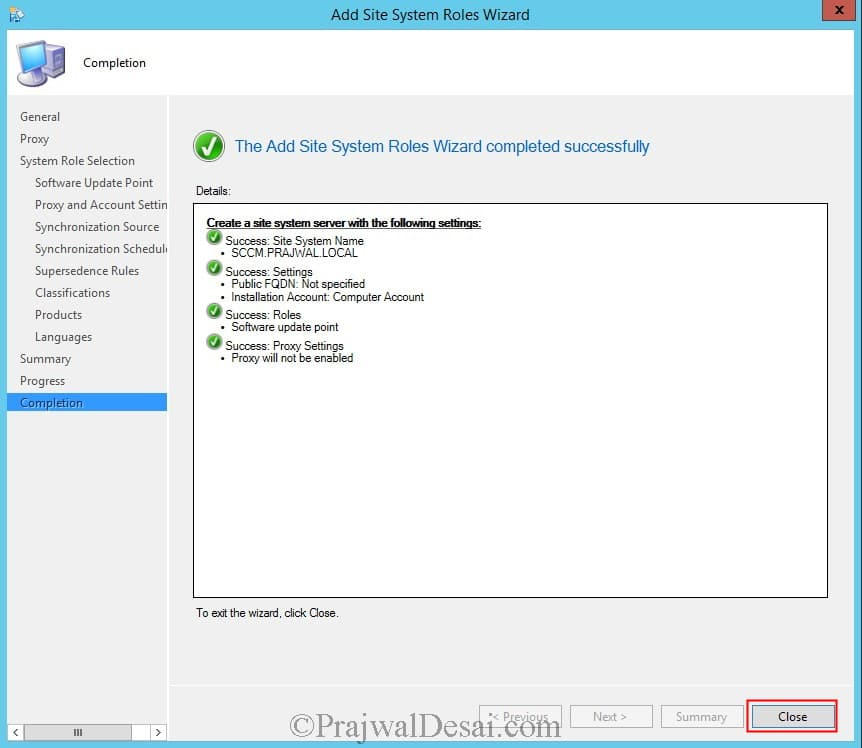 Deploy Software Updates Using SCCM 2012 R2 Snap11