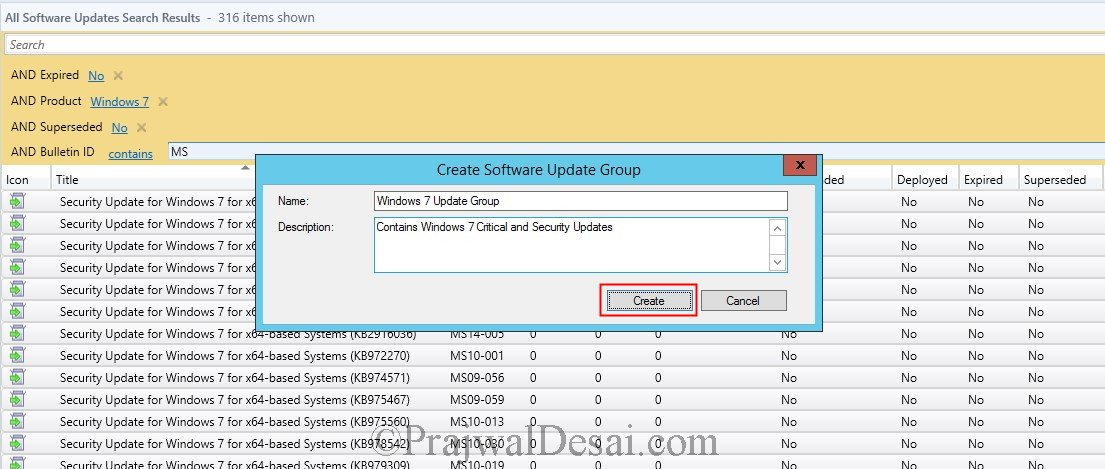 Deploy Software Updates Using SCCM 2012 R2 Snap17