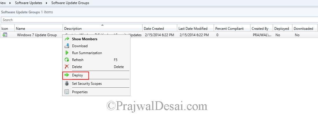 Deploy Software Updates Using SCCM 2012 R2 Snap18