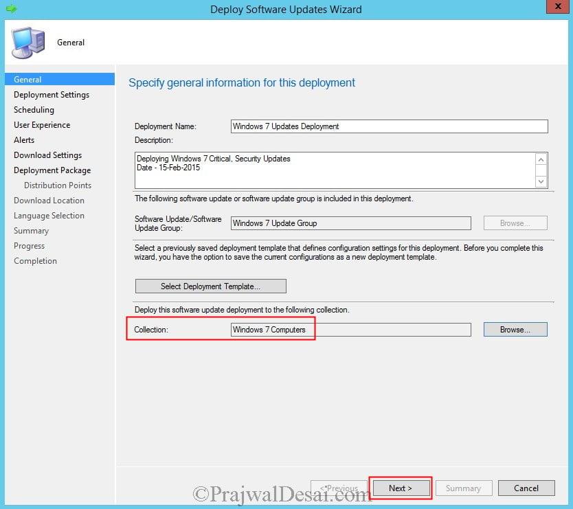 Deploy Software Updates Using SCCM 2012 R2 Snap19