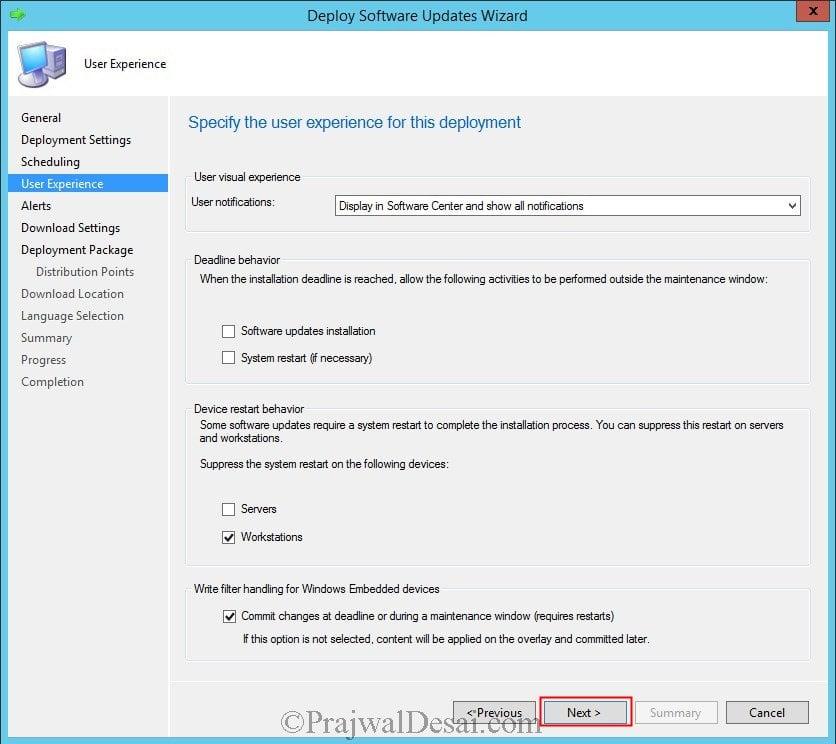 Deploy Software Updates Using SCCM 2012 R2 Snap22