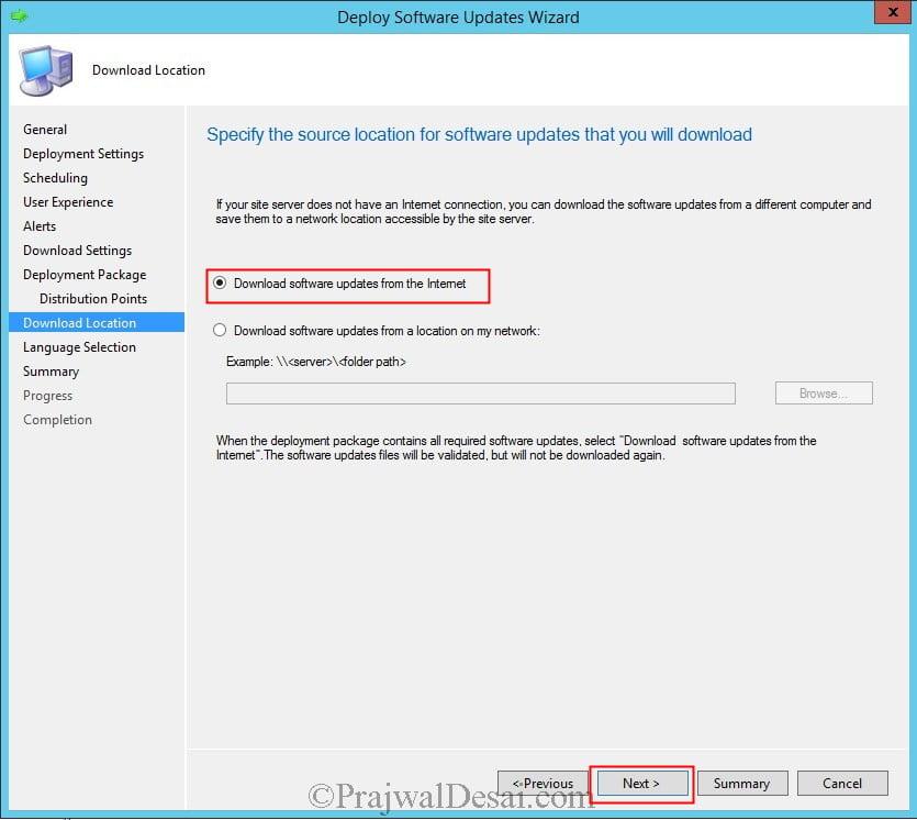 Deploy Software Updates Using SCCM 2012 R2 Snap26