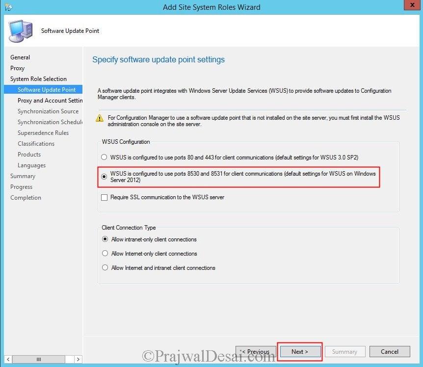 Deploy Software Updates Using SCCM 2012 R2 Snap3