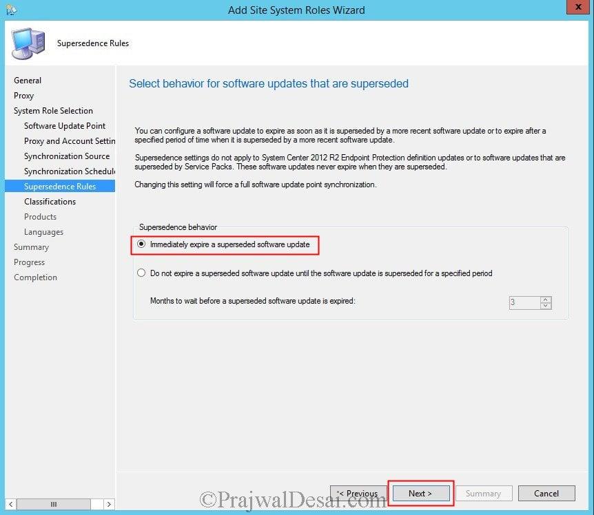 Deploy Software Updates Using SCCM 2012 R2 Snap7