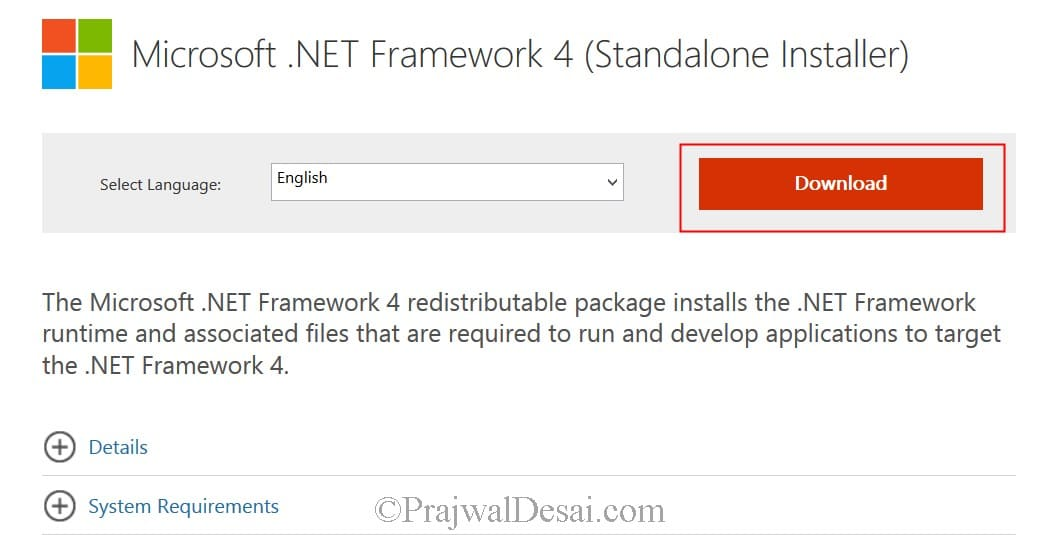 Deploy .NET Framework 4.0 Using SCCM 2012 R2