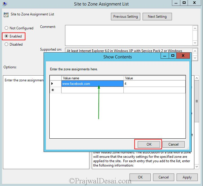 How To Add Sites to Internet Explorer Restricted Zone