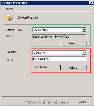 SCCM Query to create collection for x86 and x64 machines