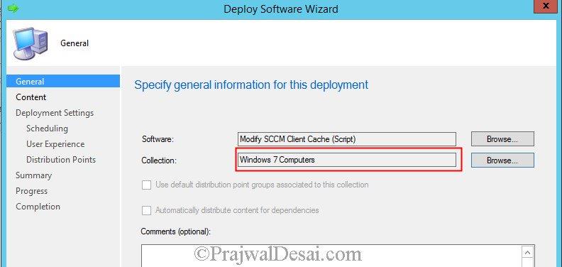 increase SCCM client cache size