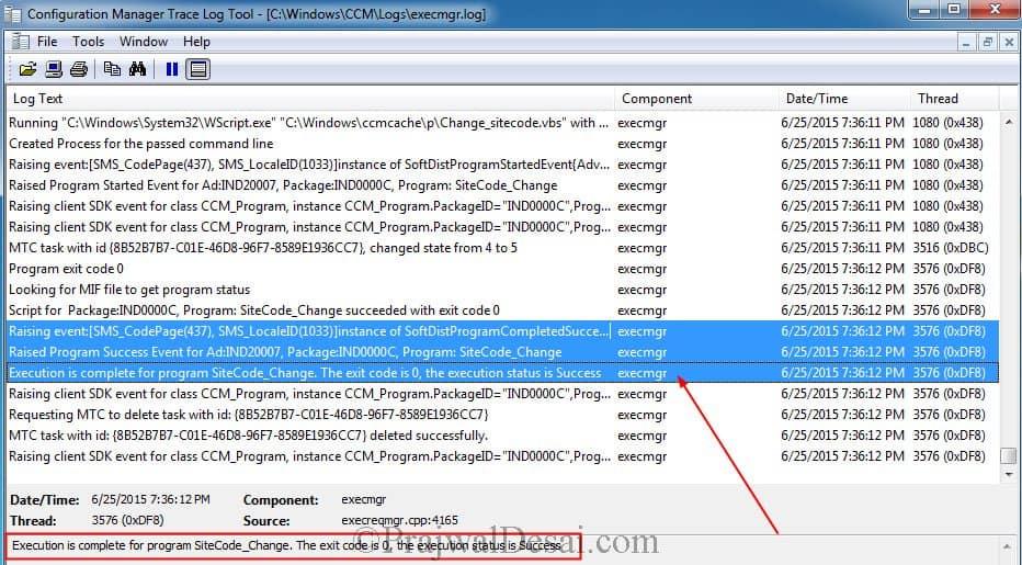 execmgr.log file