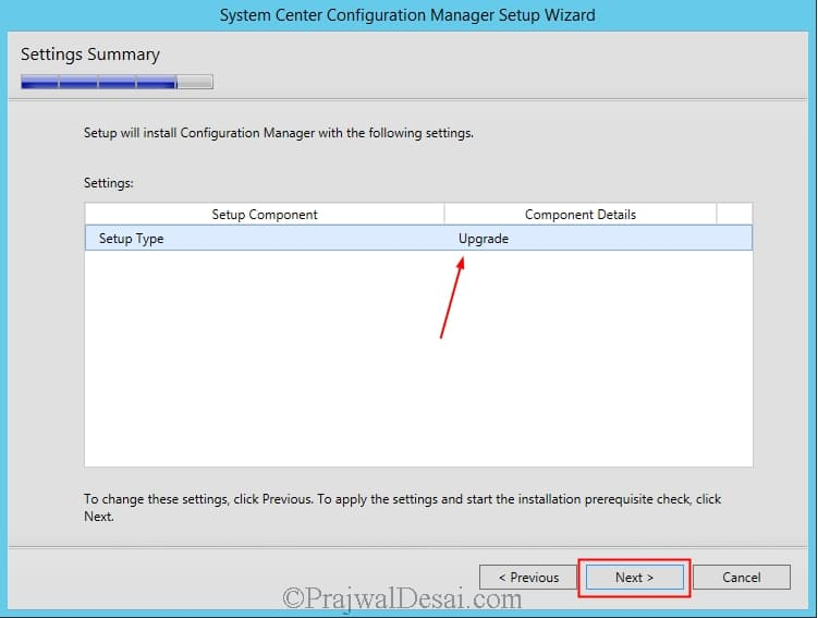 In-place Upgrade to Configuration Manager 1511