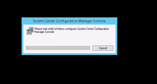 Configuration Manager 1602 Console and Client upgrade