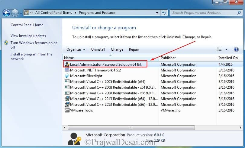 How to install and deploy Microsoft LAPS Software