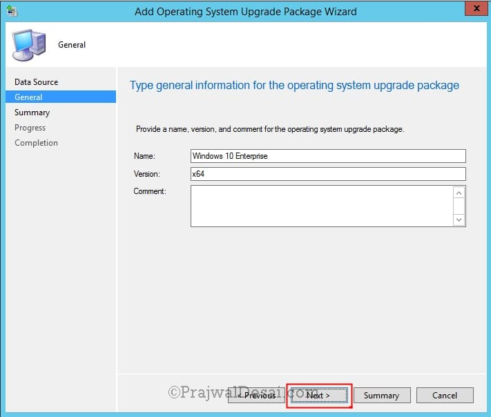 In-place upgrade to Windows 10 Enterprise with SCCM