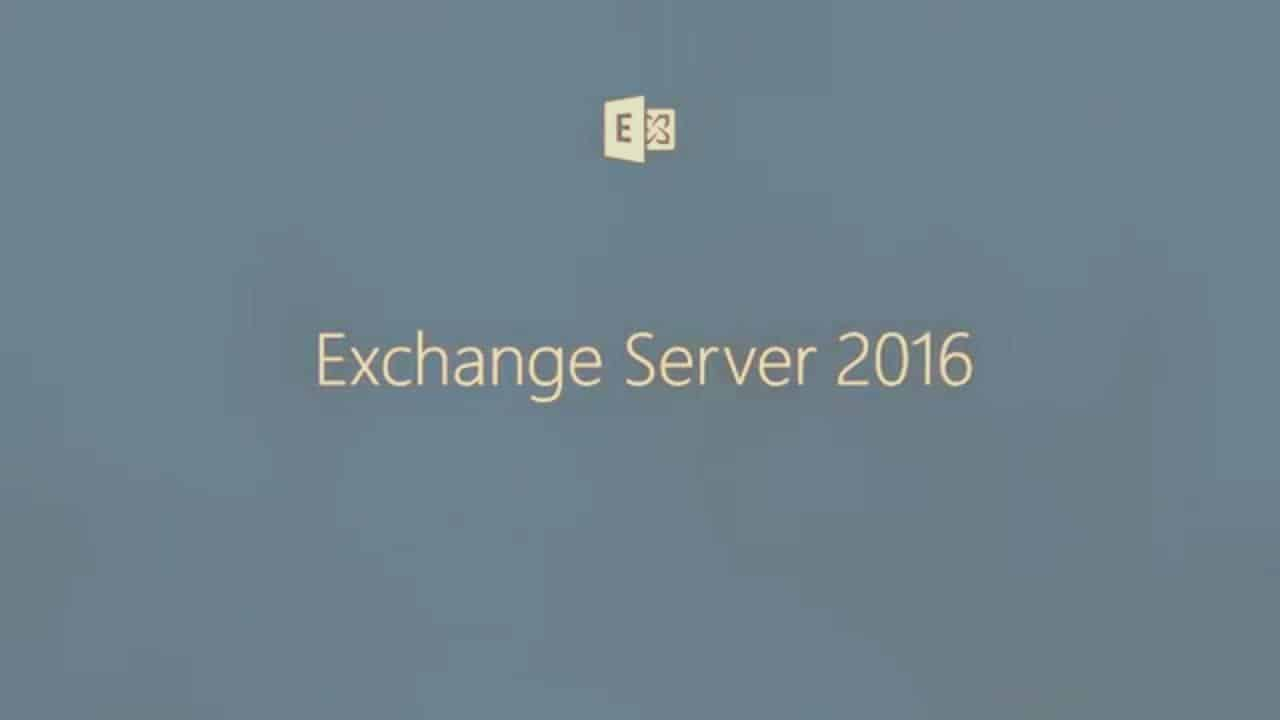 Step by Step Guide to Install Exchange Server 2016 – Prajwal