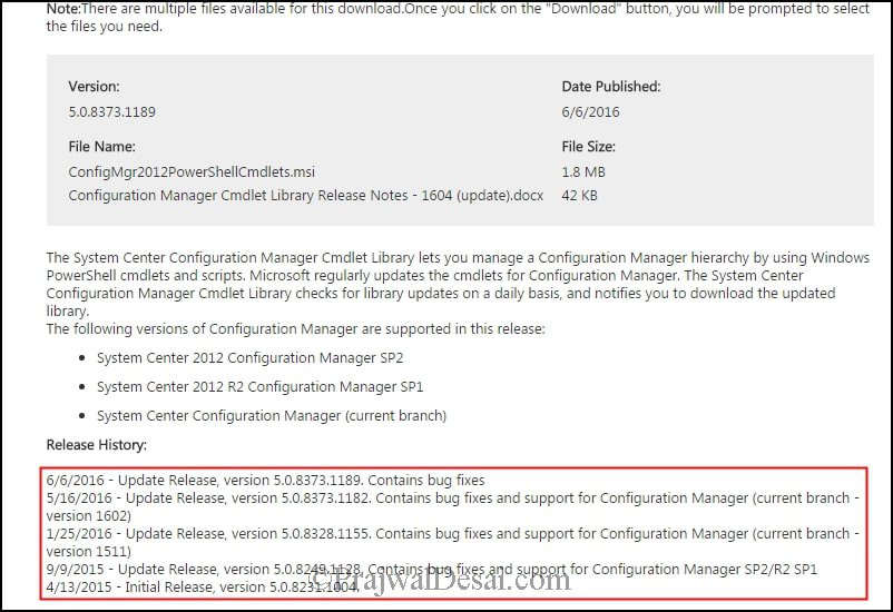 How to Update Configuration Manager Cmdlet Library