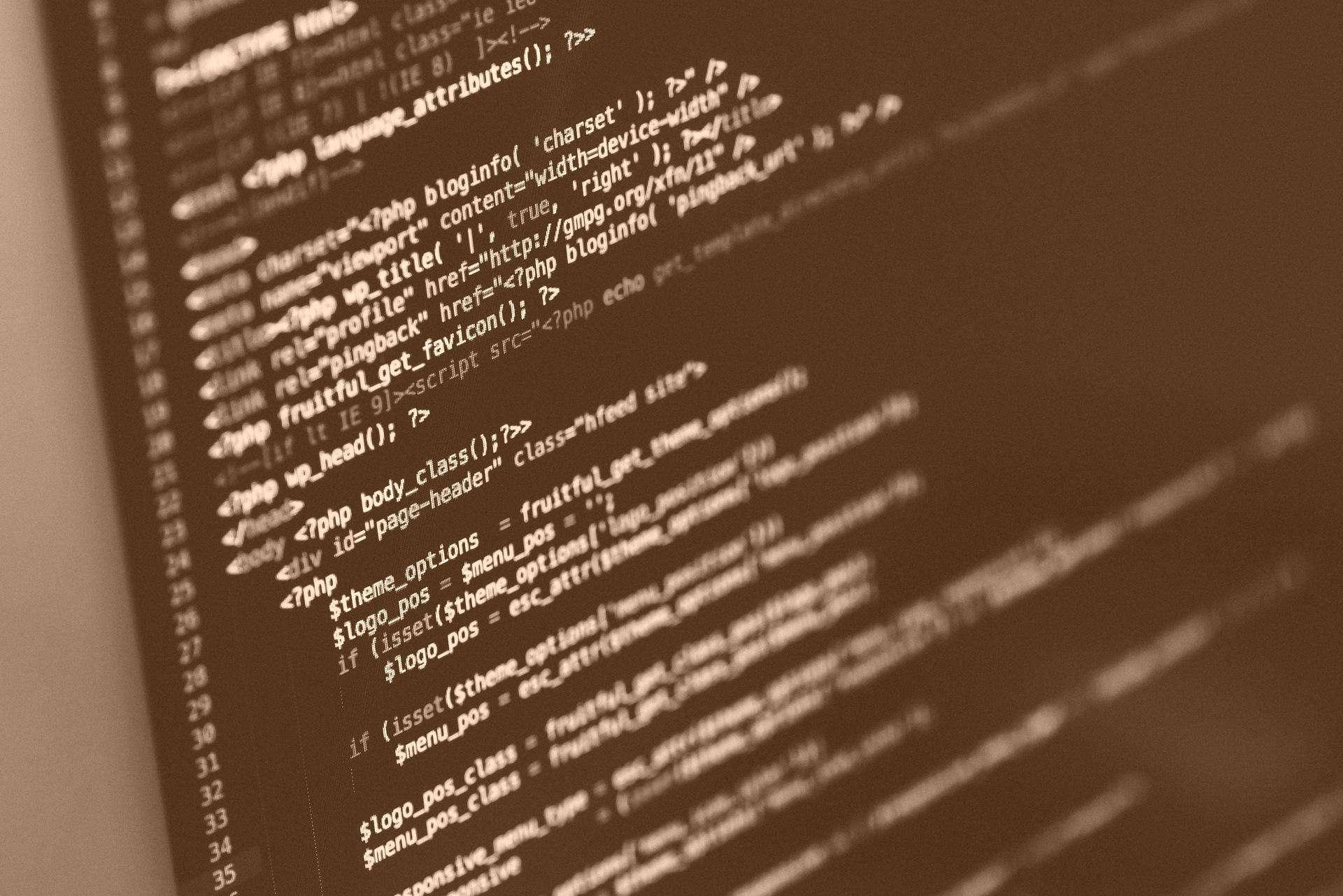 code lines vintage