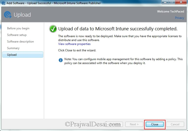 Adding Android application to Microsoft Intune