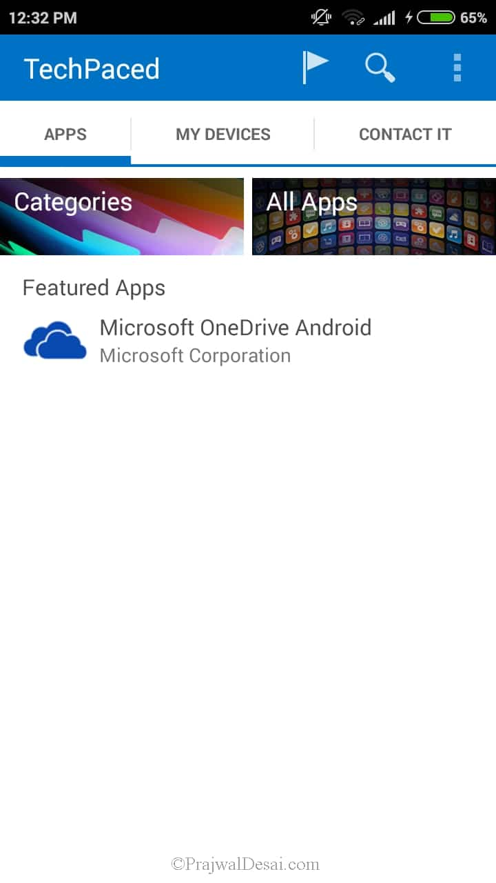 Deploying Android Applications using Microsoft Intune