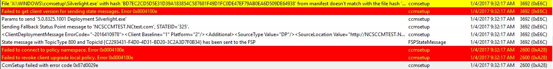 CCMSetup failed with error code 0x87d0029e