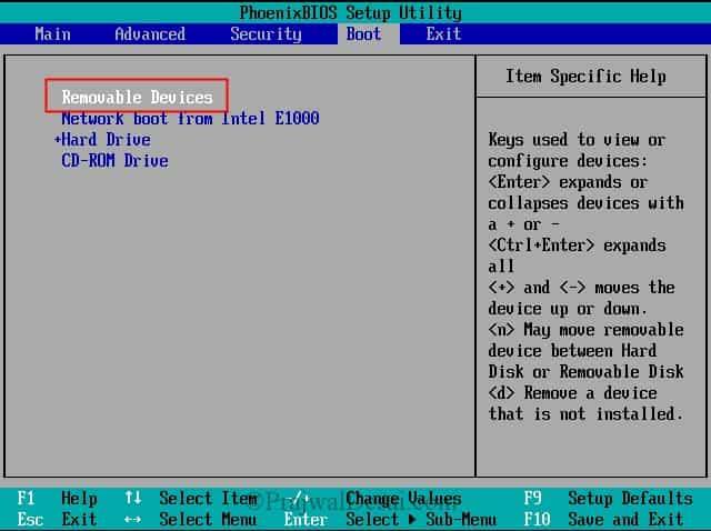 reset windows password with usb